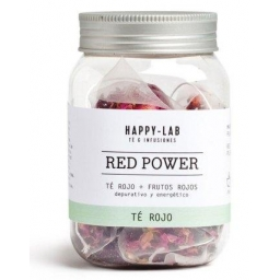 Té rojo RED POWER de Happy-Lab